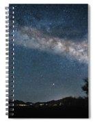 Milky Way 1 Spiral Notebook