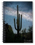 Milky Way 2 Spiral Notebook