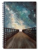 Milky Way Spiral Notebook