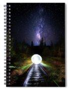 Milky Way Orb Spiral Notebook
