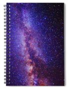 Milky Way Splendor Vertical Take Spiral Notebook