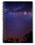 Milky Way Splendor Spiral Notebook