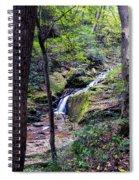 Mill Creek Falls Spiral Notebook