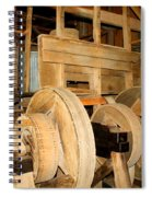 Mill Mechanism Spiral Notebook
