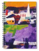 Mill Pond In Summer Spiral Notebook