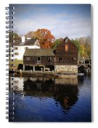 Mill Reflections Spiral Notebook