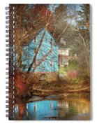 Mill - Walnford, Nj - Walnford Mill Spiral Notebook