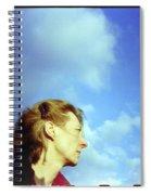 Millenium Bridge Iv Spiral Notebook