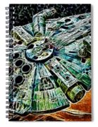 Millenium Falcon Spiral Notebook