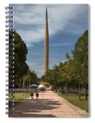 Millennium Monument Spiral Notebook