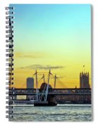 Millennium Sunset Spiral Notebook