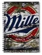 Miller Beer 5b Spiral Notebook