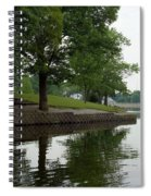Miller Park Lake Spiral Notebook