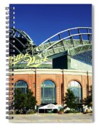Miller Park - Milwaukee Wisconsin Spiral Notebook