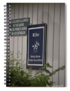 Miller Stable Spiral Notebook