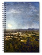 Millet: Sheep By Moonlight Spiral Notebook