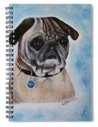 Millie The Pug 2016 Spiral Notebook