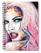 Million Dollar Babe Spiral Notebook