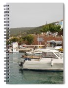Milos On Agistri Island Spiral Notebook