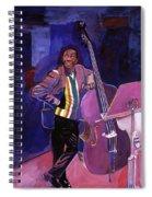 Milt Hinton Jazz Bass Spiral Notebook