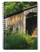 Milton Dye Covered Bridge  Spiral Notebook