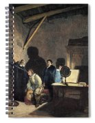 Milton Visiting Galileo Spiral Notebook