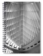 Milwaukee Art Museum Interior B-w Spiral Notebook