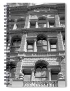 Milwaukee Cloud Reflections Bw Spiral Notebook