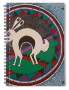 Mimbres Inspired #9a Spiral Notebook