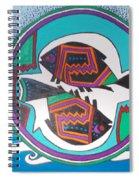 Mimbres Inspired #3a Spiral Notebook