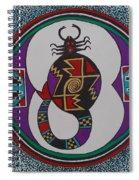 Mimbres Inspired #8a Spiral Notebook