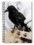 Mime's Guitar Accompanist Spiral Notebook