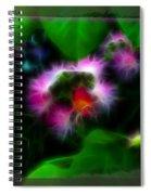 Mimosa Flower Spiral Notebook