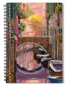 Mimosa Sui Canali Spiral Notebook