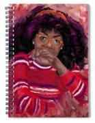 Mind Working Spiral Notebook