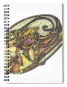 Mine Spiral Notebook