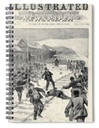 Miner Strike, 1888 Spiral Notebook