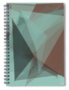 Mineral Polygon Pattern Spiral Notebook