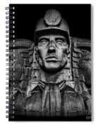 Miners In The Dark Spiral Notebook