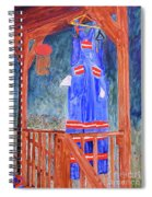 Miner's Overalls Spiral Notebook