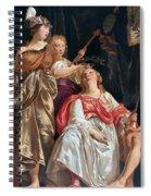 Minerva Crowns The Maid Of Leiden Spiral Notebook