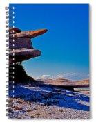 Mingan's Humanoid Monolith Spiral Notebook