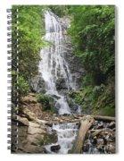 Mingo Falls In North Carolina Spiral Notebook