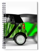 Mini Cars Spiral Notebook