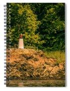 Mini Lighthouse Spiral Notebook