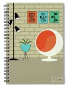 Mini Shapes Spiral Notebook