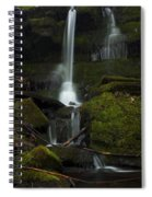 Mini Waterfall In The Forest Spiral Notebook