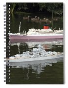 Miniature Boats Spiral Notebook