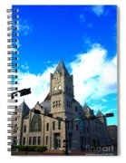 Miniature Castle Spiral Notebook