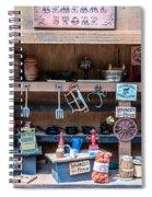 Miniature General Store Spiral Notebook